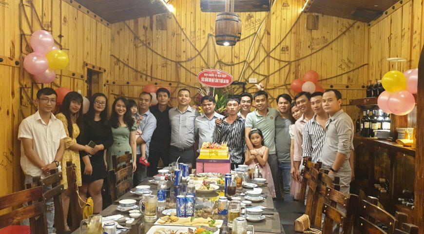 Công ty Ngôi Sao Vina mừng sinh nhật cùng các đối tác chiến lược